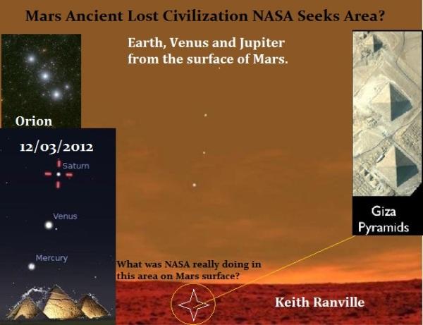mars ancient lost civilization giza pyramida