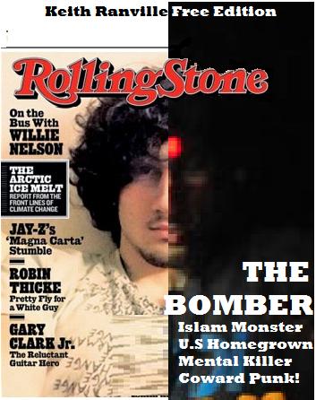 Rolling Stone Magazine boston bomber punk