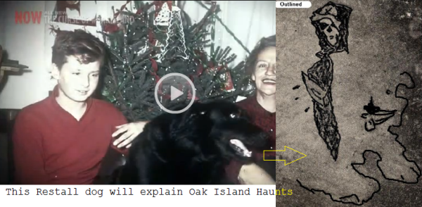 oak island hauted dog pirate
