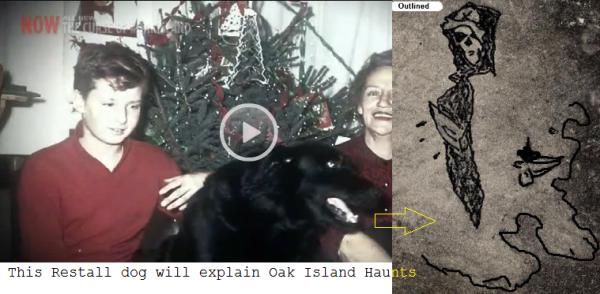oak island hauted dog pirate