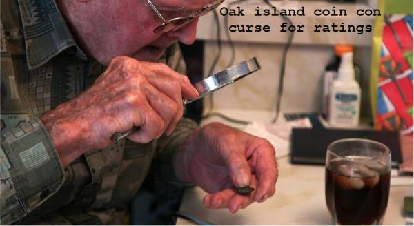 oak island cojn con curse